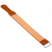 Genuine Leather Strop/Belt Barber shaving Pro Straight Razor Sharpener