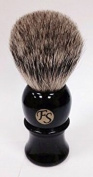 Pure Badger Shaving Brush - Black Handle 22mm Knot From FS