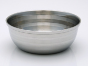 Schöne Stainless Steel Half Hemisphere Shaving Bowl - Satisfaction Guarnteed