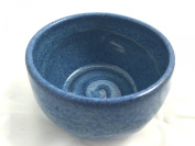 Schöne Pottery Blue Shaving Soap Bowl- Handmade in the USA, Beautiful Gift!