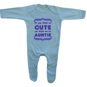Bang Tidy Clothing Baby Boy's If You Think I'm Cute... Rompersuit