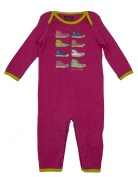 Babies Converse Sleepsuit All in One Red age 9 - 12 months