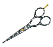 Japan Style Hair Scissors with Cobalt Coating - 14cm - Excellent Germany