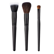 ON & OFF Stipple Domed Powder and Oval Shader Brush, Large