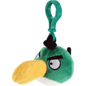Commonwealth Toys Angry Birds Plush Backpack Clip 5.1cm - Toucan