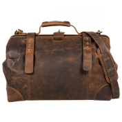 Greenland Nature Classic Doctors Bag Leather 41 cm brown