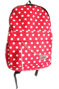 Interesting Rucksack/ Backpack School Bag Short Trip Holiday Surfer Boho New Blue/ White Dog Paw