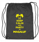 Keep Calm and Party In Magaluf - Fun Drawstring Bag FREE POSTAGE