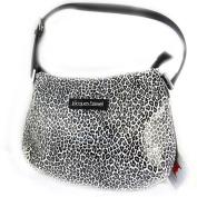 Designer bag 'Jacques Esterel'white black leopard.