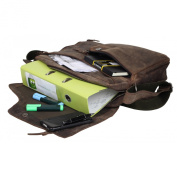 Greenburry Vintage Revival Vol.2 Shoulder Bag Leather 40 cm brown