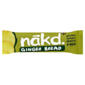 Nakd Ginger Bread Gluten Free Bar