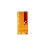 Org E Dark Mandarin Ginger Bar (85g) *Bulk Pack of 12*