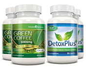 Green Coffee Bean Cleanse Pack 2 Month Supply