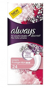Always Discreet Incontinence Liners - Pack of 96