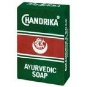 Chandrika Bath Soap Ayurvedic - 75 Grammes, 10 Pack
