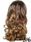 Beauty Works Double Volume Glam curl 3/4 head wig Various colours