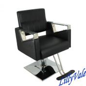 Lillyvale® Modern Square Barber Chair Salon Beauty Hairdresser Tattoo Shaving Model:BERLIN