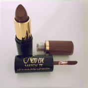 New Eve Trendy 2 in1 Match it NATURAL brown Lipstick and Lip Gloss 15ml Cosmetic Duo Makeup