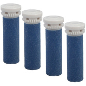 Express Pedi Extra Coarse Replacement Rollers Compatible with Scholl Express Pedi Electrical Hard Skin Remover