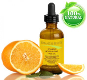 "VITAMIN C Moisturising Face Oil ORGANIC. 100% PURE MOISTURE with 20 % Vitamin + Red Raspberry Seed Oil + Cranberry Seed Oil + Grapeseed Oil. 100% Natural. 0.5 fl oz-15 ml. 100% Natural ""One of the best Anti- Ageing Skin Supplements."" It will not exfoli .."