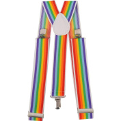 Dress up America Wide Striped Suspender