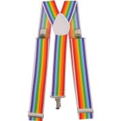 Dress up America Wide Striped Suspender