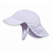 Baby Girls Wallaroo Kiwi Hat - UPF50+ High UV Protection 0-6 Months - Pink Dots