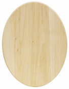 Walnut Hollow Basswood Plaque, Oval