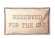 Sass & Belle Cotton Reserved for The Cat Cushion Cover with Inner