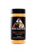 Recover Aromatherapy Bath Crystals -500ml- Athletic Soak Therapy Natural Salts to Cleanse & Detoxify for Spa, Bathtub