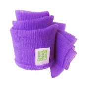 Body Acne Exfoliating Cloth by Green Heart Labs, Purple