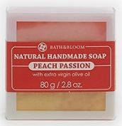 BATH & BLOOM Peach Passion Natural Soap 80 G. / 80ml