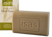 Isa's Naturals Exfoliating Cleansing Dead Sea Mud Soap - 200ml Bar