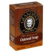Grandpa's Old Fashioned Oatmeal Bar Soap for Face and Bath, 100ml