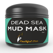 Dead Sea Mud Mask Best For Facial Treatments, Pore Cleansing, Acne, Moisturising & Wrinkle Reduction - All Natural, Includes Rosehip Oil, Coconut Oil, Aloe Vera, Vitamin C & Vitamin E For Supra-powerful Results -  .  d