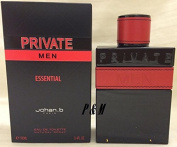 PRIVATE ESSENTIAL BY JOHAN B COLOGNE FOR MEN 3.4 OZ / 100 ML EAU DE TOILETTE SPRAY