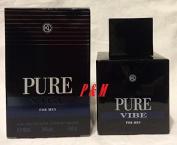 PURE VIBE BY KAREN LOW COLOGNE FOR MEN 3.4 OZ / 100 ML EAU DE TOILETTE SPRAY