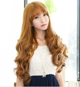 Kuafu New Arrival Sexy Women Long Curly Wig Wigs
