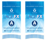 Lace FX A Curve Tape Hypo-allergenic Wig Hair Piece Adhesive Tape - 2 Packs