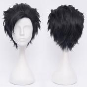 Sunny-business Short Black Naruto Anime Haikyuu Cosplay Wig