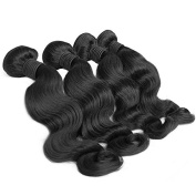 Four Bundles of Brazilian Hair ★4 Brazilian Hair Bundles ★6A Grade ★30cm - 80cm - Straight, Body Wave, All Textures