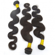 LANOVA Body Wave Brazilian Quality Virgin Hair Extension Mixed Length 46cm 50cm 60cm 3pcs/lot 100g/pc