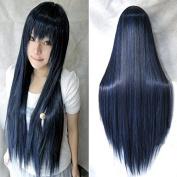 "Anogol® Vocaloid 32"" 80cm Long Straight Wigs Lolita Cosplay Wig Kanekalon Costume Party Wig Halloween"