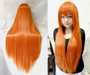 """Free Hair Cap+ Vocaloid 32"""" 80cm Long Straight Hair Heat Resistant Spiral Straight Cosplay Costume Wig Harajuku Rainbow Deviants Collection Sexy Lady Wigs Hallowmas Wigs"""