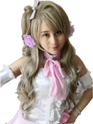 Cf-fashion Lovelive Minami Kotori Cosplay Wig Women Long Designed Wave Cos Wigs Without Headwear
