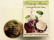 Hair Regrowth Programme with Eclipta Alba (Minoxidil Natural Alternative) Hair Mask and Eclipta Alba Extract in Coconut Oil Shampoo in a Bar Format - Entire Kit Consist Of