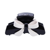 Korean Beauty Acrylic Butterfly Jaw Clip Women Barrette Black White Hair Claw Claws