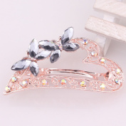 2015 New Fashion Women Hair Glass diamond hairpin spring Crystal Rhinesone Design for Women Hair Clip Hair Pin Hair Accessories
