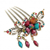 Beyend Beautiful Jewellery Flowers Crystal Hair Clips - for hair clip Beauty Tools