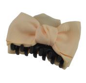 Stylish 8.4cm Plastic Claw Jaw Bowknot Hair Clip HC259
